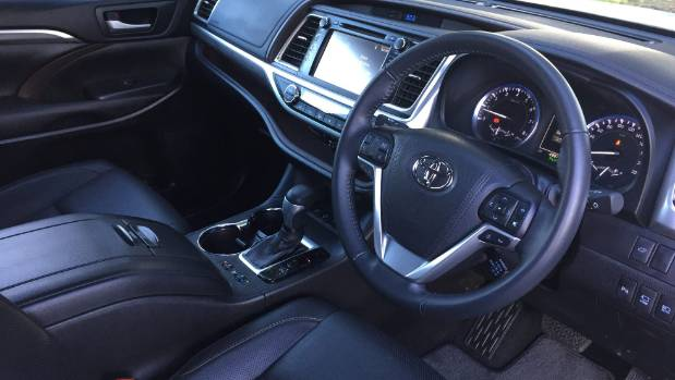 At the Limited level the Highlander's interior is highly specified.