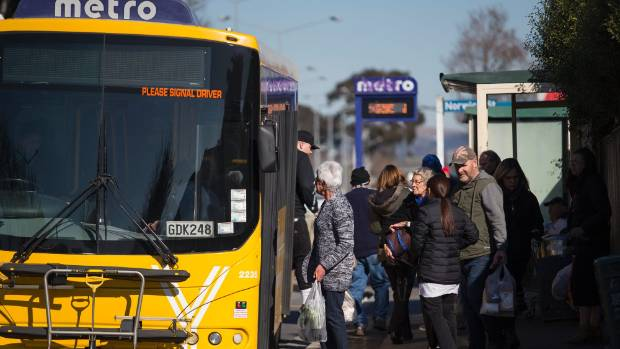 All aboard?: Metro bus use has begun to decline again after small post-quake recovery.