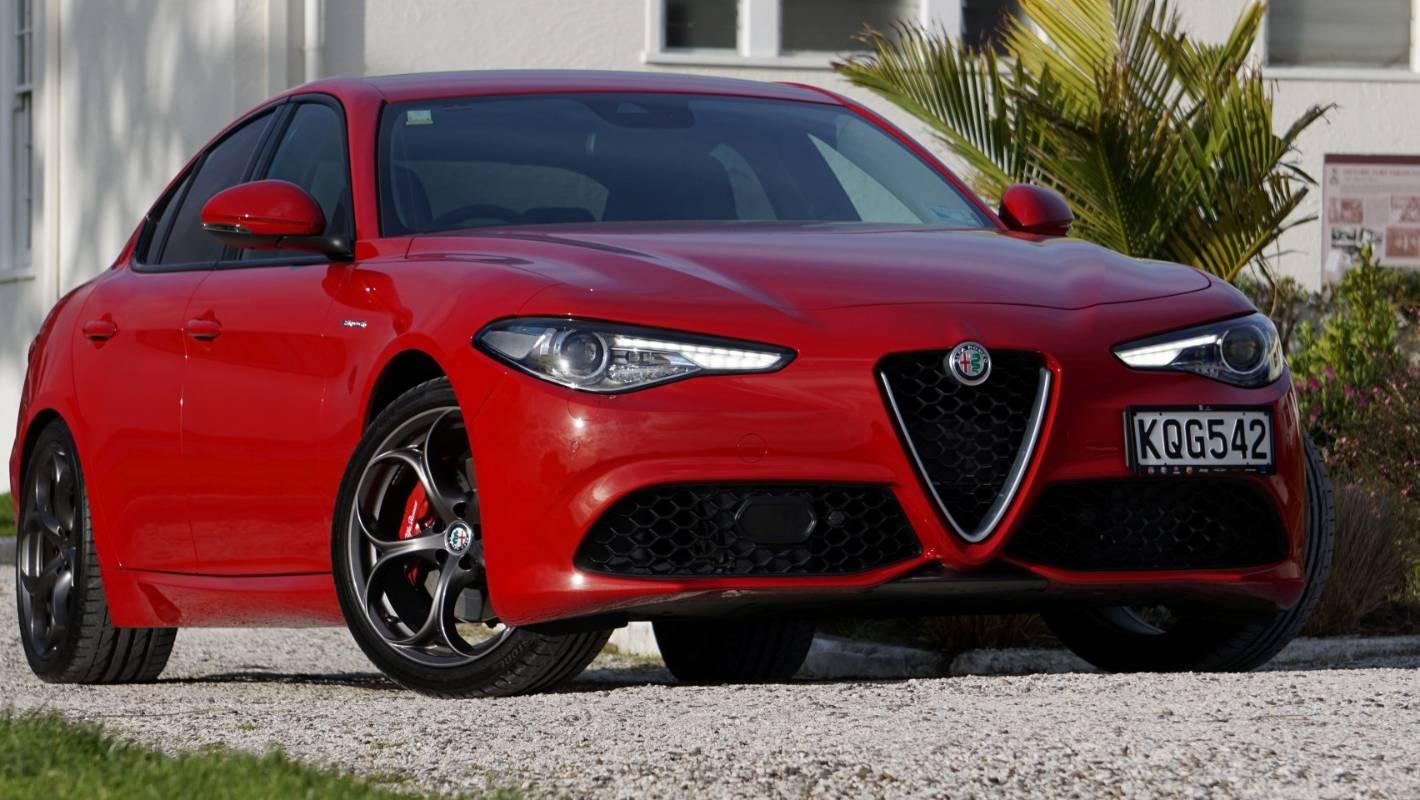 on Alfa Romeo Giulia Interior