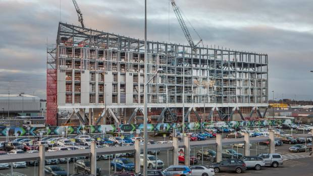 Christchurch Video: Incorrect Steel Delays Christchurch Airport Hotel Opening