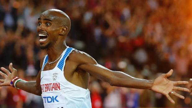 Mo Farah's aura of invincibility is no more after he was well beaten in the 5000m at the athletics world champs.