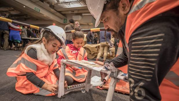 Setting girls up to realise their dreams. Kiara Amaru,6, Cassidy Papier, 8, and Abraham Amaru from Upper Hutt battle it ...
