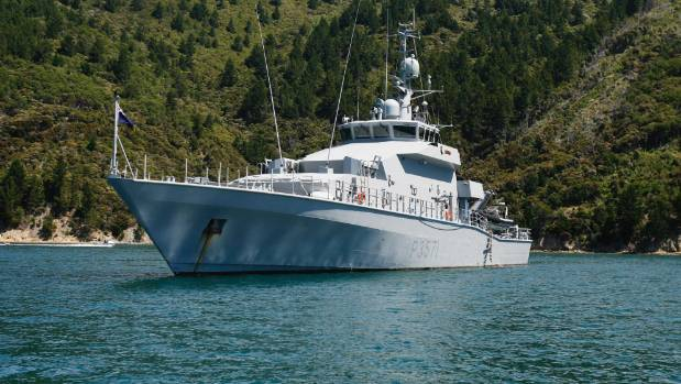The crew of a HMNZS Hawea has caught a vessel fishing illegally off the coast of Fiji.