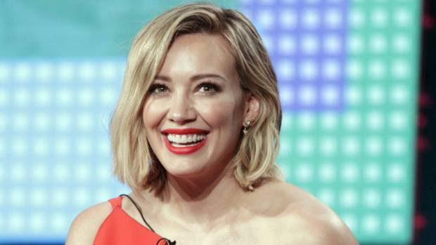 Hilary Duff doesn't give a damn about her cellulite.