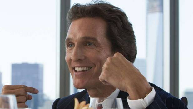 Matthew McConaughey almost stole the show from Leonardo DiCaprio in The Wolf of Wall St.