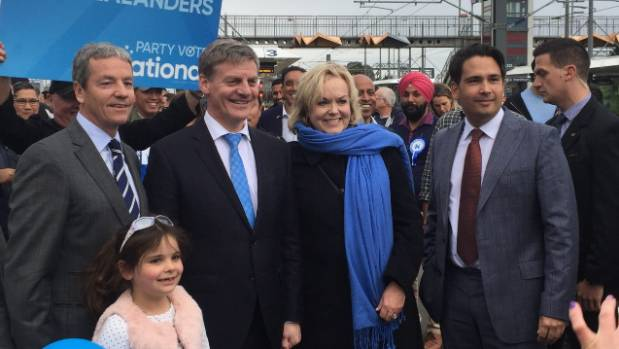 Bill English joined Simon Bridges to talk about National's policies on Auckland transport on Sunday.