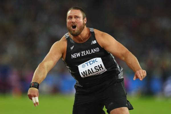 Kiwi Tom Walsh had to wait for a protest to be shot down before celebrating his gold medal at the world championships in ...
