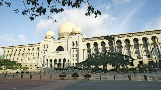 The Palace of Justice in Putrajaya.
