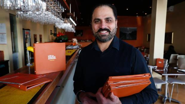 Mani Rai, owner operator of Little India in Nelson, one of 18 restaurants in the New Zealand chain which began in ...