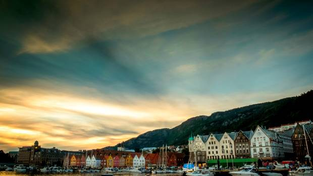 This is a photo I took last month in Bergen in Norway.  It's a beautiful town but the weather was against us the whole ...