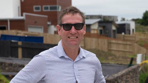 Japac Homes co-owner Paul Haydock says people are snapping up houses in Palmerston North, often before they are built.