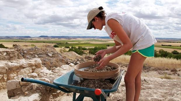 Volunteers with ArchaeoSpain contribute hands-on excavation and laboratory work at an ancient Roman fortress and learn ...