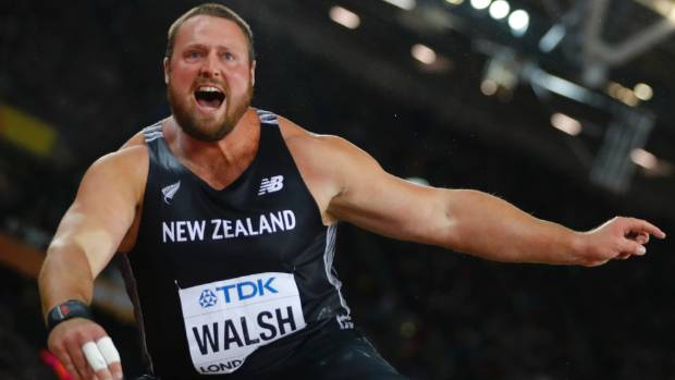 Big Tom Walsh was pretty light on his feet when he realised he had won world championship gold.