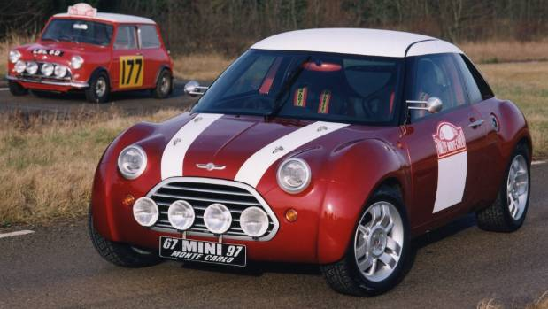 How's this for a sporty Mini? ACV30 was mid-engined, rear-drive (basically an MGF actually).