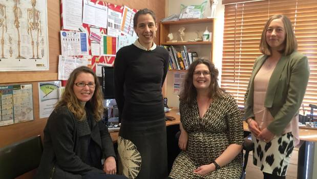 The doctors from Toi Toi Medical. Ngaire Warner (left), Debs Harrison, Claire Thurlow and Rebecca Velluppillai.