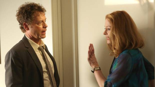 Otto with Greg Kinnear in the US version of Rake.