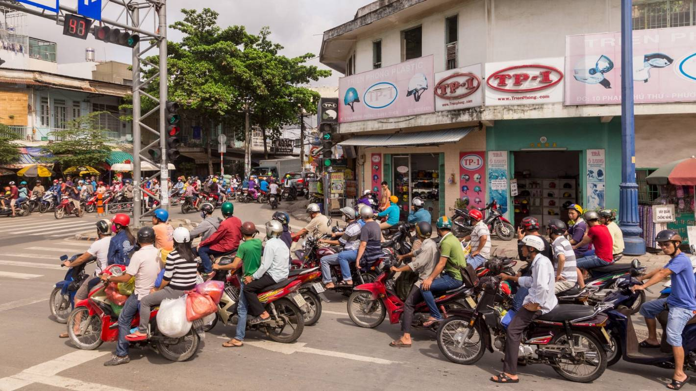 Riding Across Ho Chi Minh, Vietnam Is A Hoot Of A Scoot