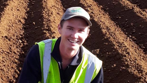 Scott Wilcox is set to compete for the national title of Young Grower of the Year 2017.