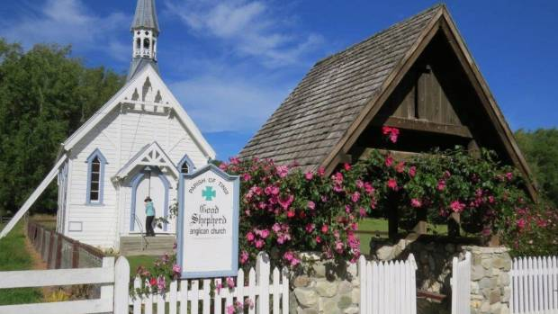 The Good Shepherd Anglican Church at Tinui,  east of Masterton.