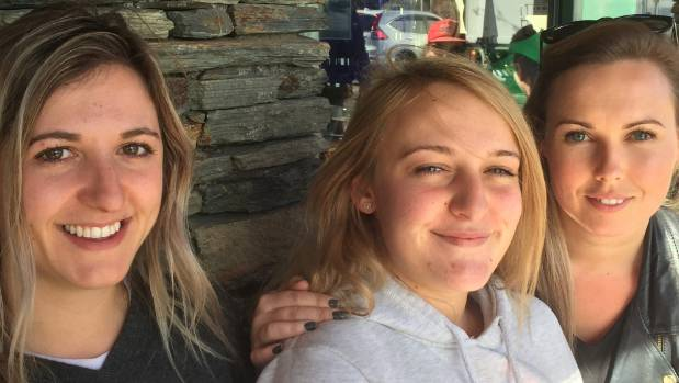 Wanaka friends Shayna Maunder, Chloe Nicholas and Lucy McAdam say a tunnel might get them to McDonald's in Queenstown ...