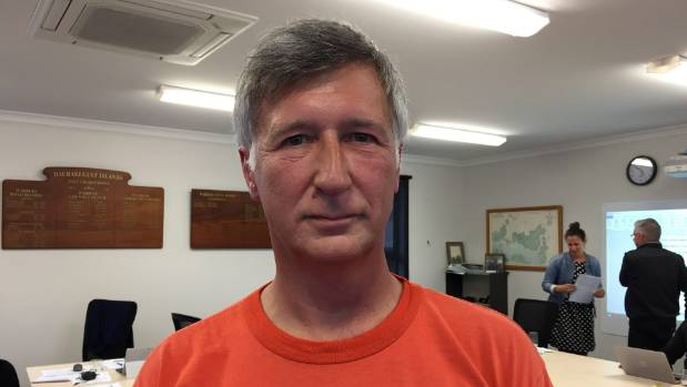 Rob Meredith is not in favour of a visitor levy for Waiheke.