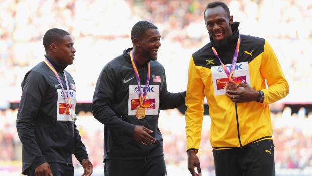 Usain Bolt passes Barton to the next generation