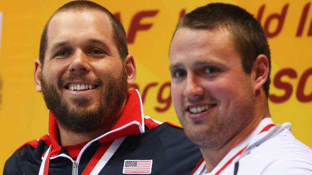 American Ryan Whiting says Tom Walsh is his best mate on the world shot put circuit.