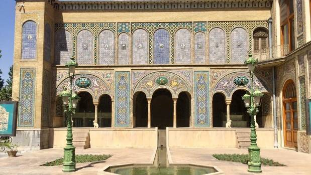 Golestan Palace, the former home of the Qajar royal family.