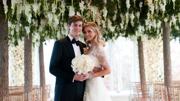 Ivanka Trump and Jared Kushner had their wedding at Trump National Golf Club in 2009.