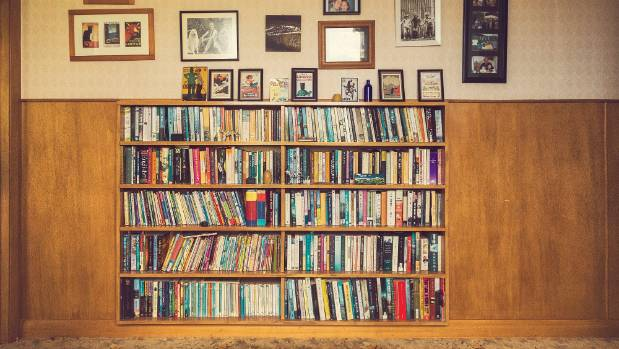 Finally the family is in a house with enough space to accommodate our love of books.