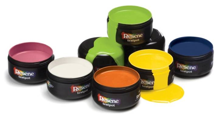 Leftover Resene paints can be returned rather than thrown away.