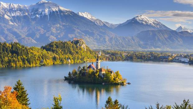 Lake Bled in all its stunning glory.