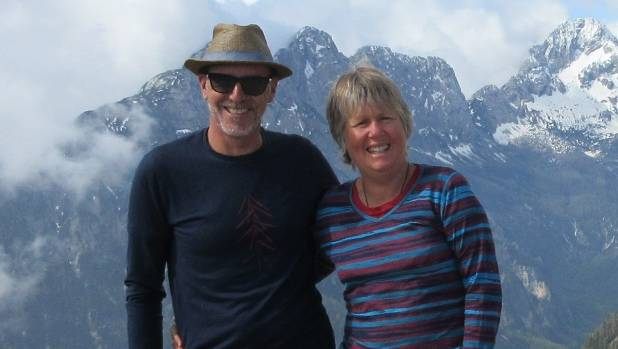 Dean and Louise Compton at the Triglav National Park in Slovenia.