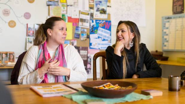 Nanda Fogli, 30, and Mariana Melo, 34, started their radio show to include more people in their conversations about self ...