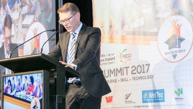 Paul Goldsmith, New Zealand's Minister for Tertiary Education, Skills and Employment, says