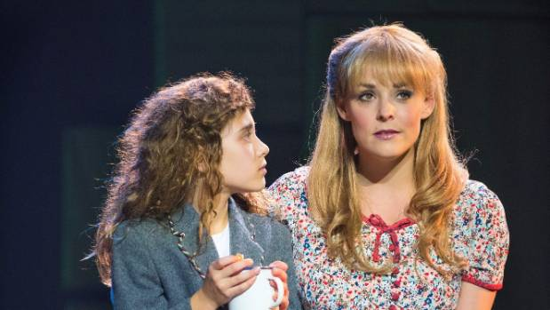 """Maunder says Miss Honey and Matilda are the musical's """"straight"""" characters."""
