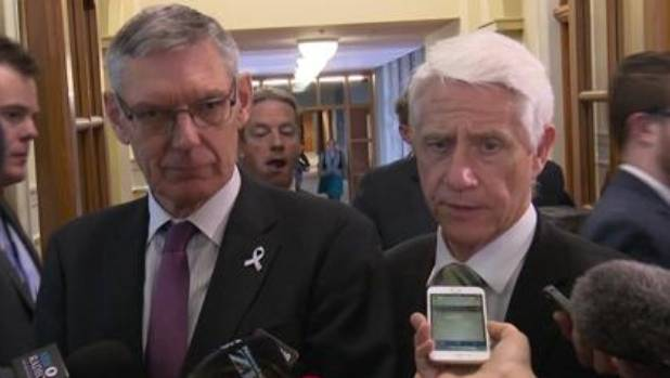 Green Party MPs David Clendon, left, and Kennedy Graham resigned this week in protest at co-leader Metiria Turei's ...