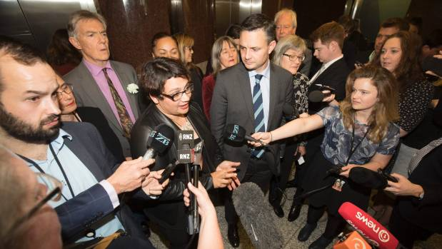 """James Shaw's """"longest week"""" saw first the loss of MPs Kennedy Graham and David Clendon, and then of his Green Party ..."""