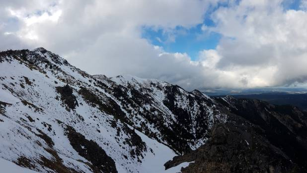 The Kaweka ranges, as photographed by Martin Vaclavu before he was rescued.