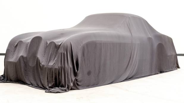 The restored 1954 Jaguar XK120 SE by Pininfarina is under wraps ahead of its Pebble Beach Concours d'Elegance reveal on ...