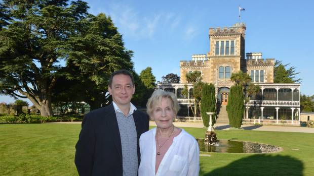 Norcombe and Margaret Barker, executive and founding directors respectively of Larnach Castle.