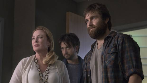 Antony Starr Says His Co Star Virginia Madsen Left Is Kind Of