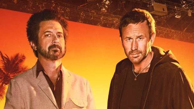 Ray Romano and Chris O'Dowd in Get Shorty.