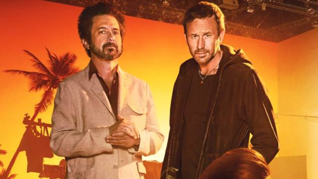Chris O'Dowd with Ray Romano in Get Shorty.