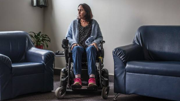 Selina can now use a wheelchair, but her recovery from Guillain-Barre Syndrome will be slow.
