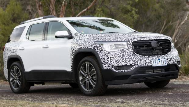 American Acadia will be Holden's seven-seat SUV option. But it'll leave the rough stuff to the Trailblazer.
