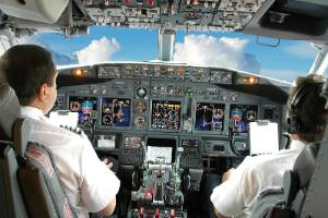 The various different kinds of turbulence - jet-stream, terrain-induced, clean-air, and convective - can be caused by a ...