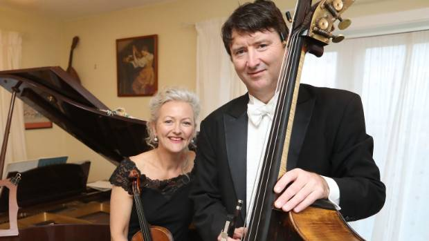 Rebecca and Malcolm Struthers work together as musicians in the NZ Symphony Orchestra and go on tour together.