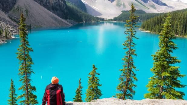 Banff In Alberta, Canada.