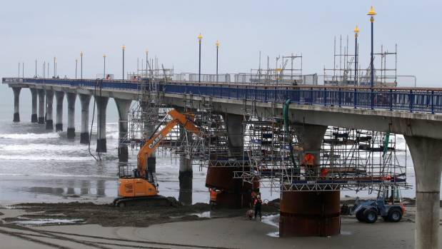 Ongoing work at the New Brighton Pier will force it to close to the public this month.